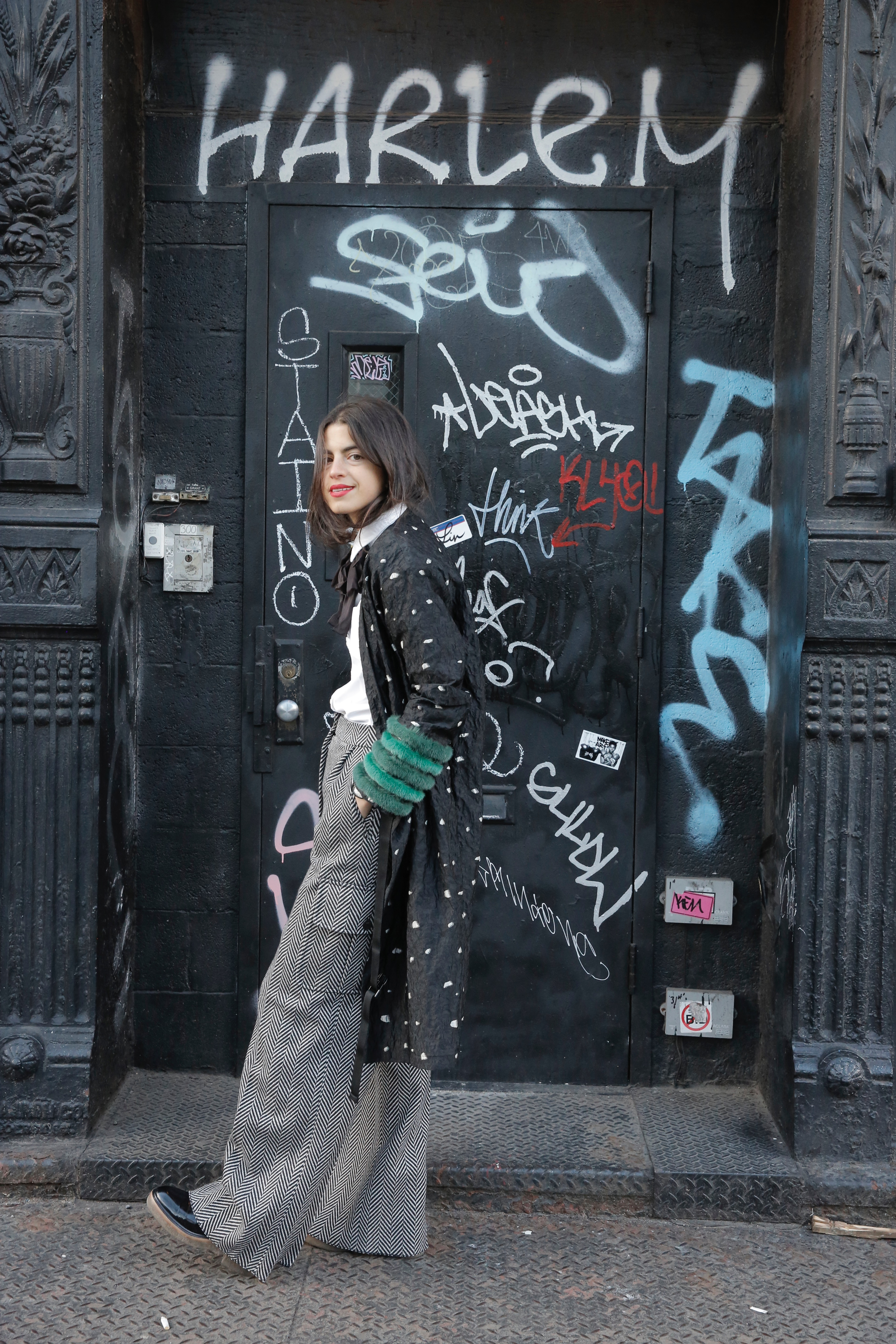 What to Wear When Youre Sick of Jeans Leandra Medine Style Inspiration Man Repeller - 31