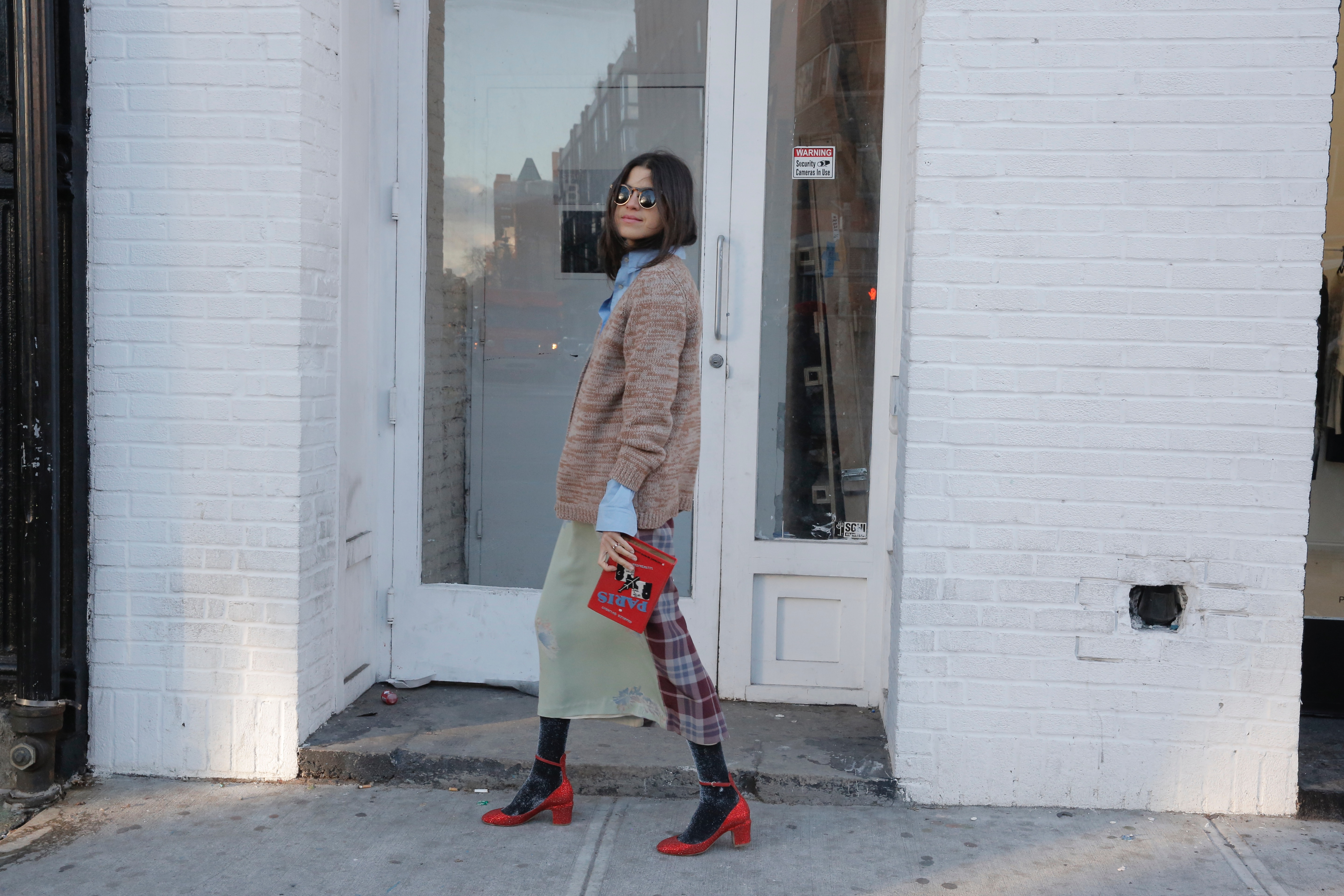 What to Wear When Youre Sick of Jeans Leandra Medine Style Inspiration Man Repeller - 36