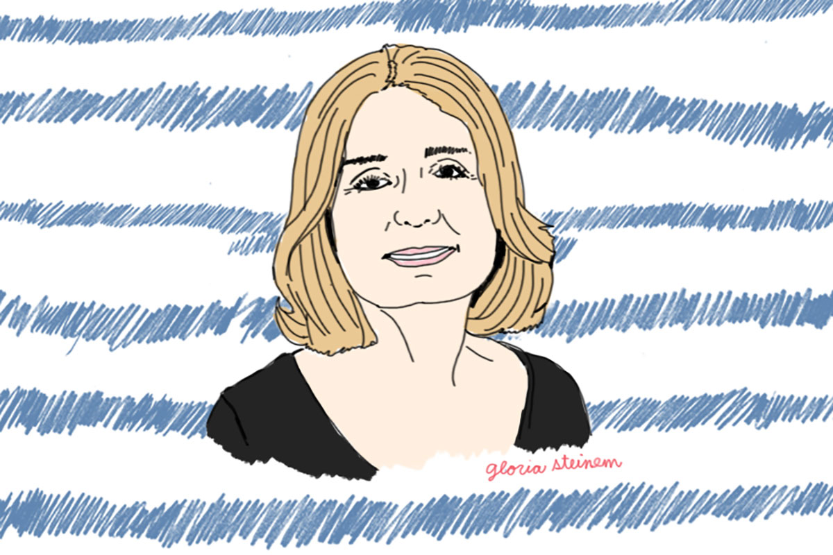 gloria-steinem-oh-boy-podcast-man-repeller-kelly-shami-illustration