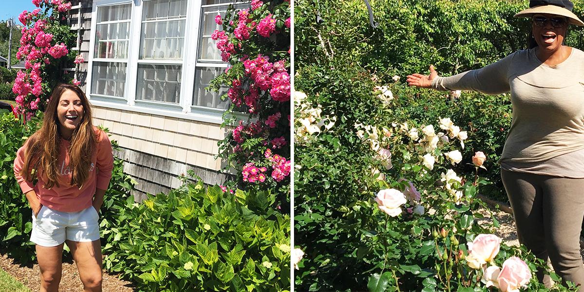 Oprah Diet Side By Side Man Repeller Flower
