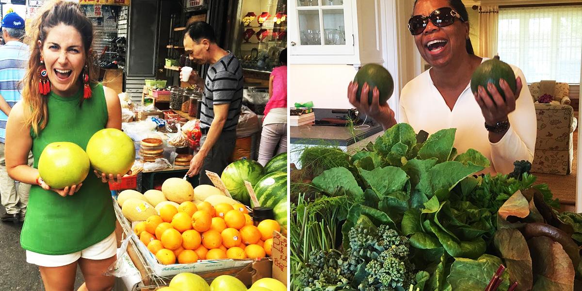 Oprah Diet Side By Side Man Repeller Produce