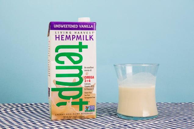 Living Harvest Tempt Hemp Milk, Unsweetened Vanilla