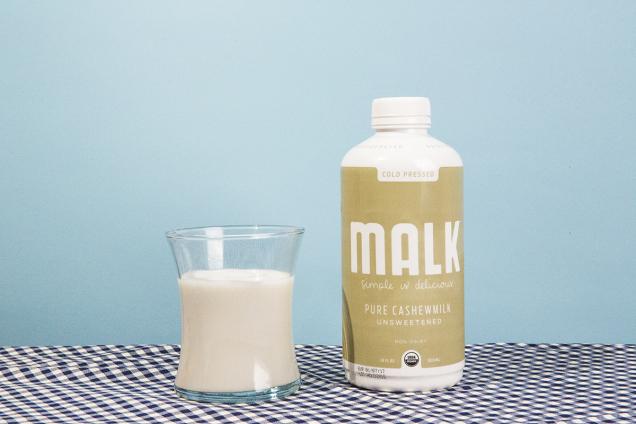 Malk Organics Unsweetened Cashew Milk
