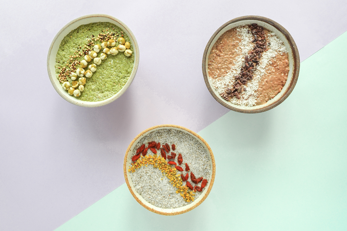 Chia Pudding Man Repeller 1