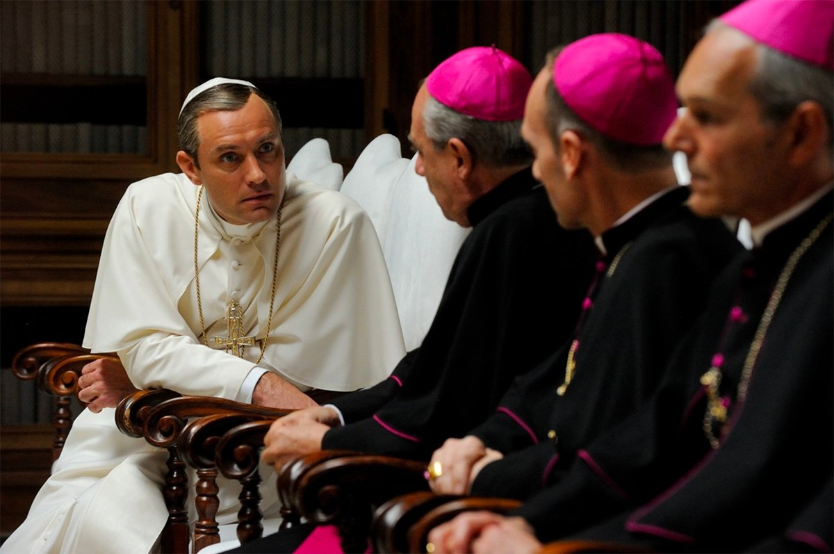 young pope hbo man repeller 5
