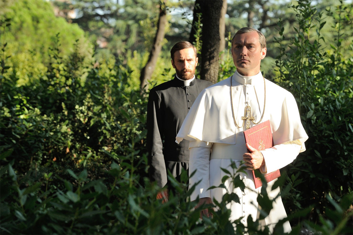 young pope hbo man repeller 8