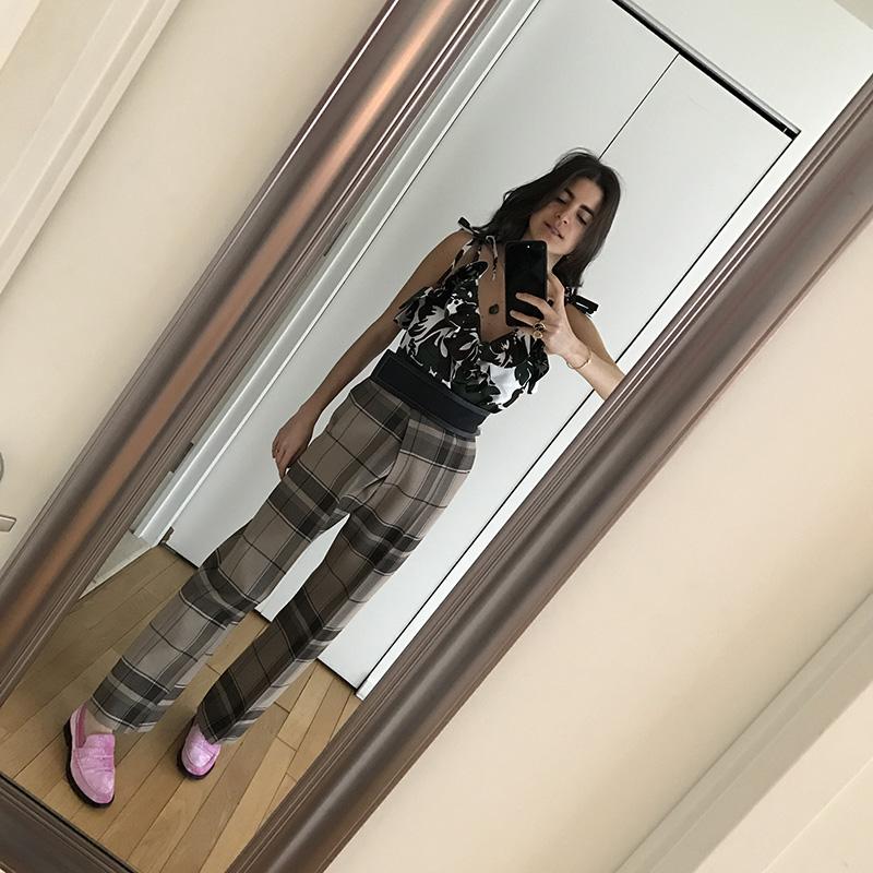 Leandra Medine Style Mirror Selfies NYFW Fashion Week Man Repeller _3745