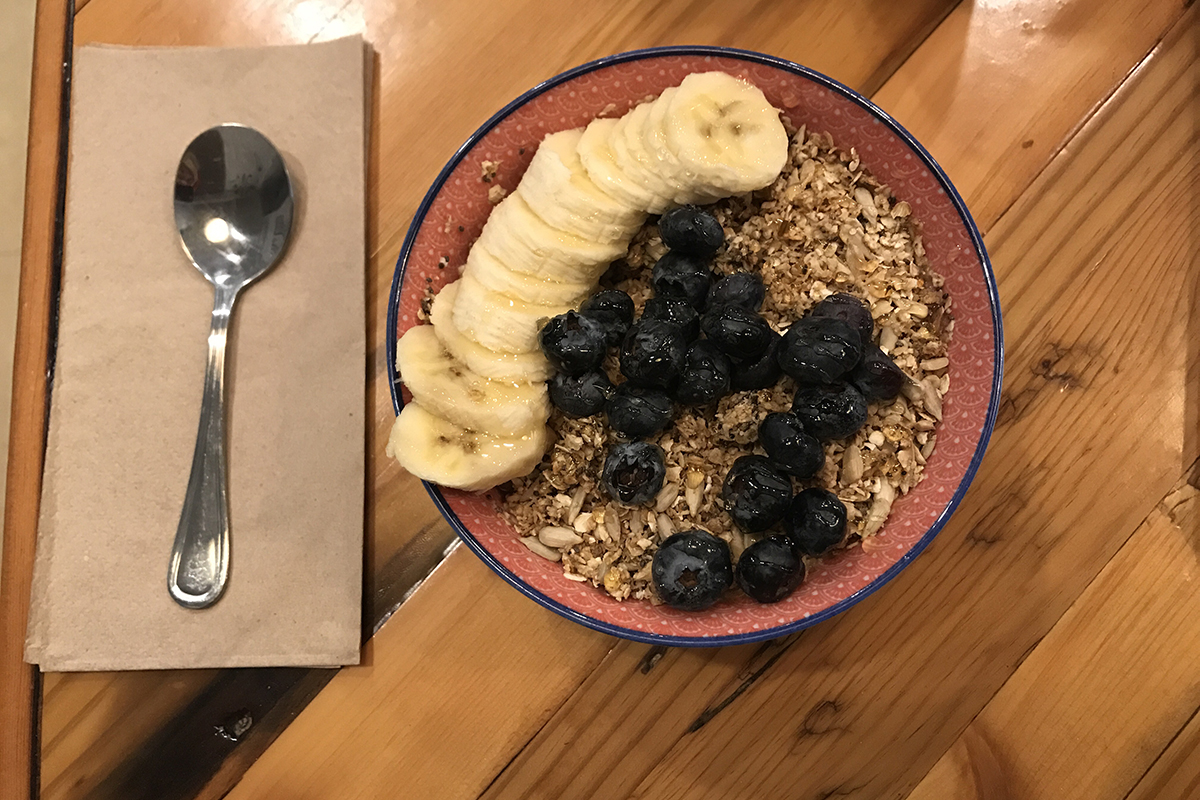 haley breakfast man repeller 1