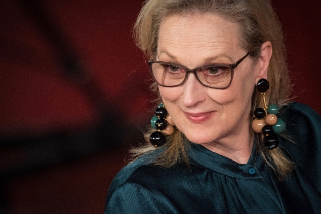 ROME, ITALY - 2016/10/20: Meryl Streep walks the red carpet for 'Florence Foster Jenkins' during the 11th Rome Film Festival in Rome, Italy. (Photo by Andrea Ronchini/Pacific Press/LightRocket via Getty Images)