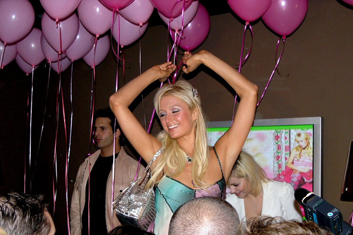 Paris Hilton during Paris Hilton's 24th Birthday Party at El Centro in Los Angeles, California, United States. (Photo by Bruce Gifford/FilmMagic)