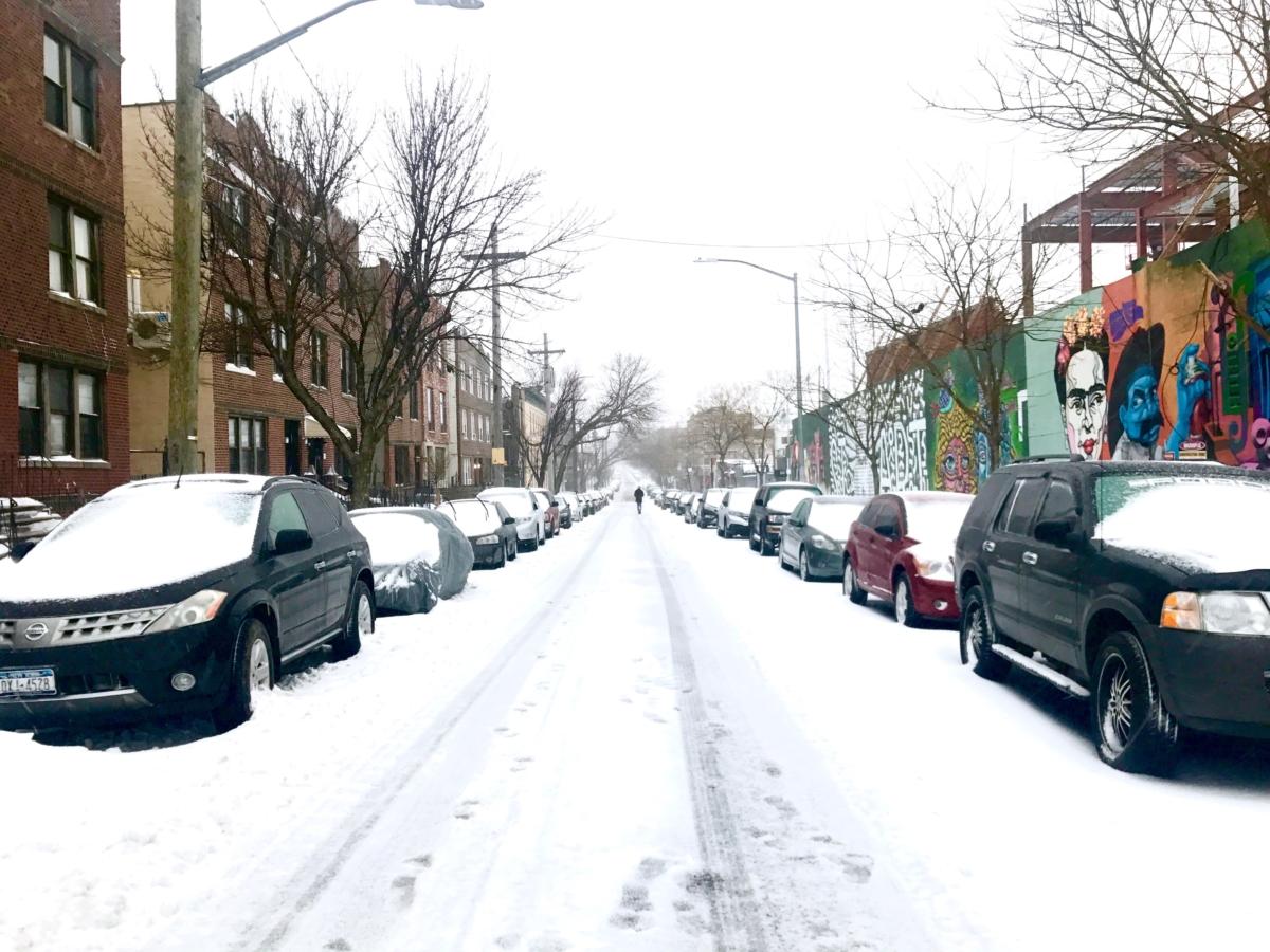 snow day man repeller haley 2