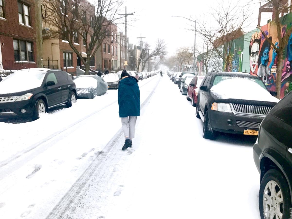 snow day man repeller haley
