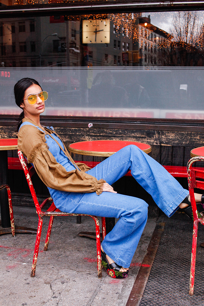 Grownup Ways To Wear Overalls April 2017 Man Repeller24