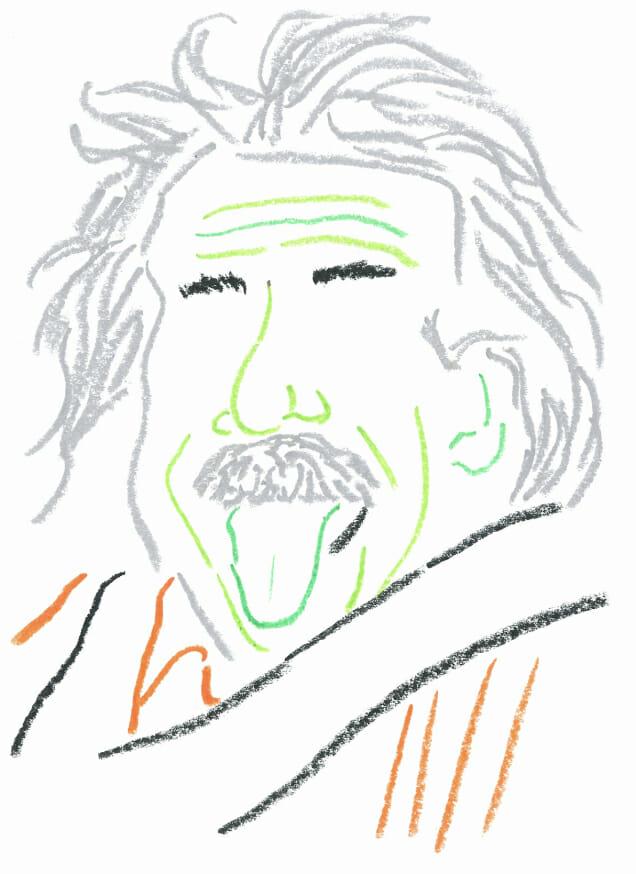 Einstein afternoon routine