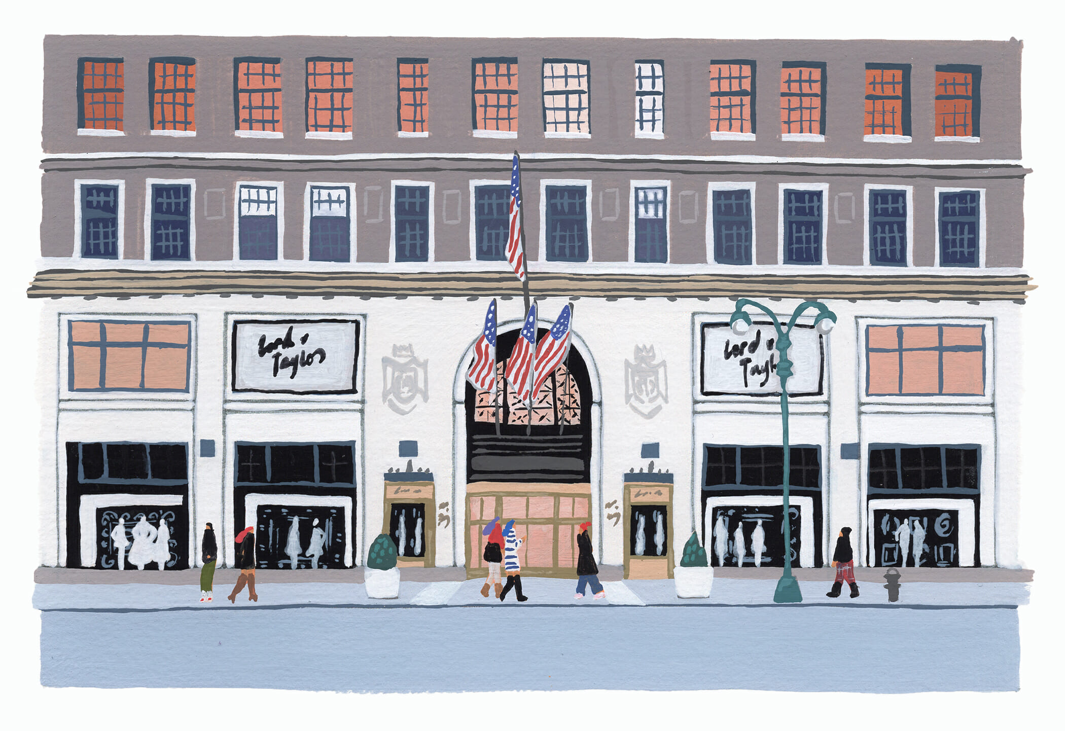 Lord & Taylor department store nyc man repeller