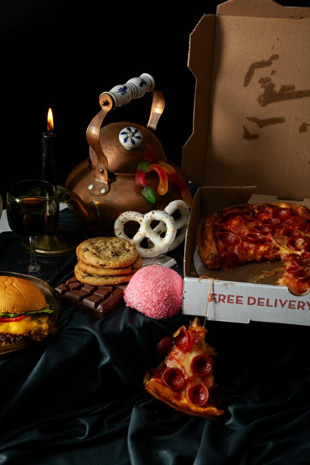 in praise of junk food man repeller
