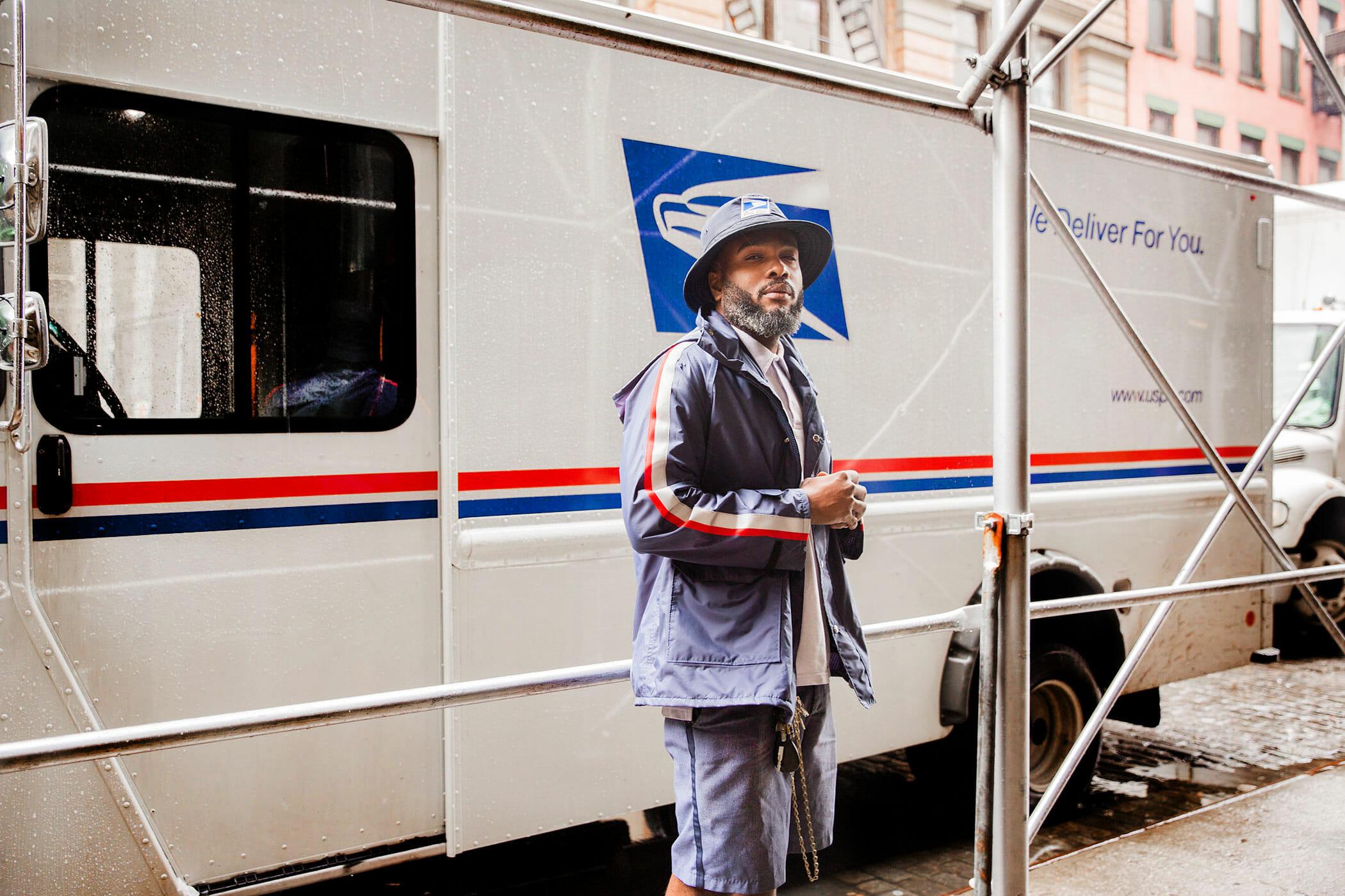 MR HQ mail guy profile man repeller