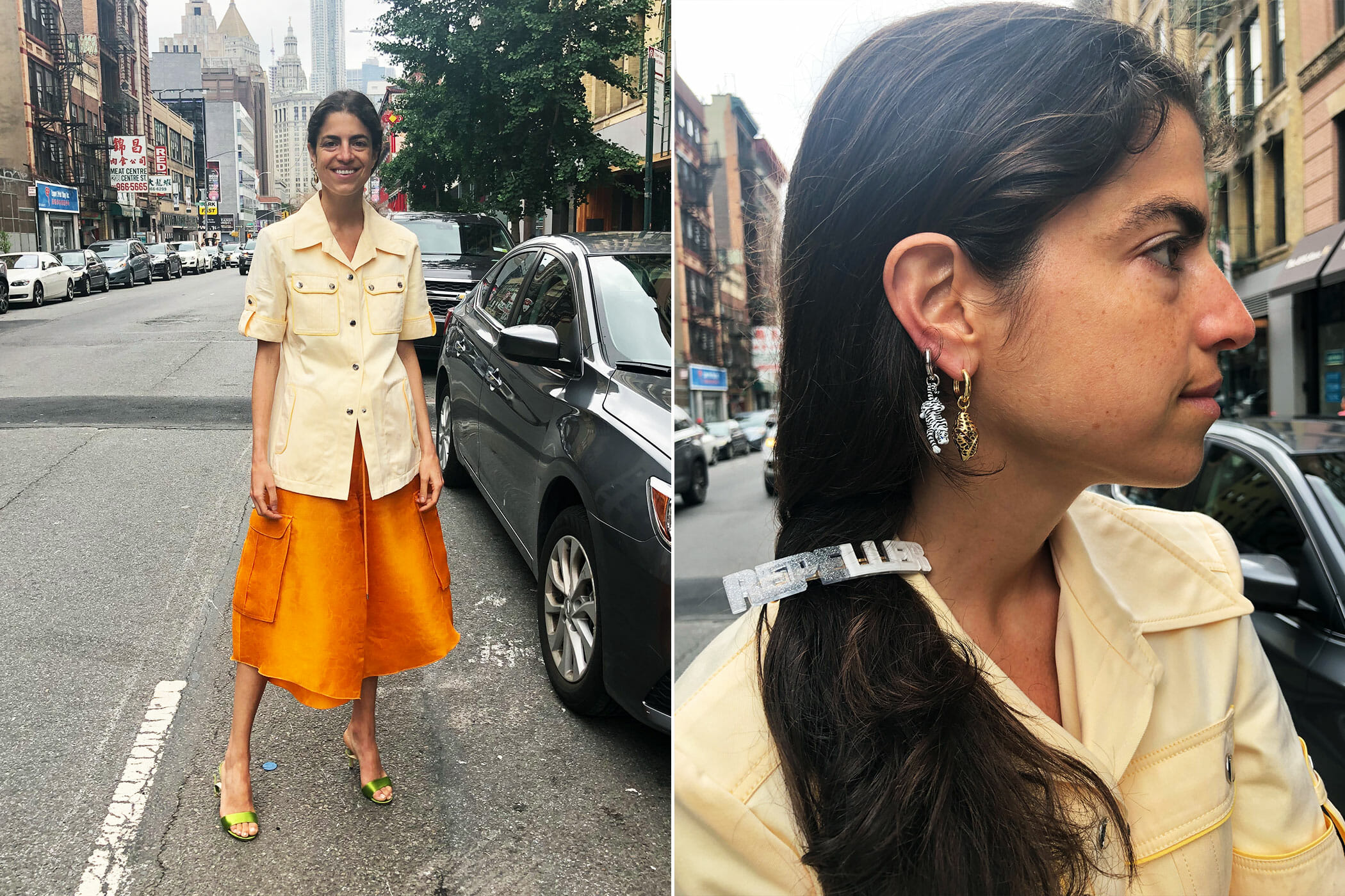 just because outfit man repeller leandra medine cohen