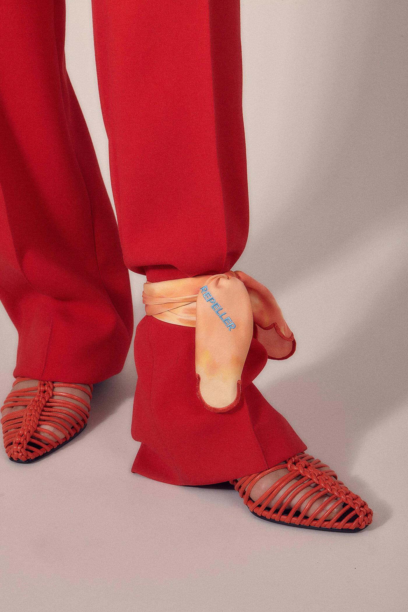 resort trend tied pants harling ross man repeller