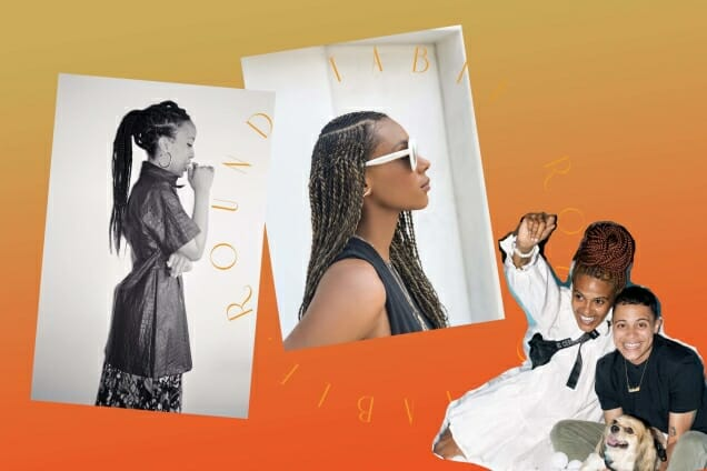 Collage Protective Hairstyles Story