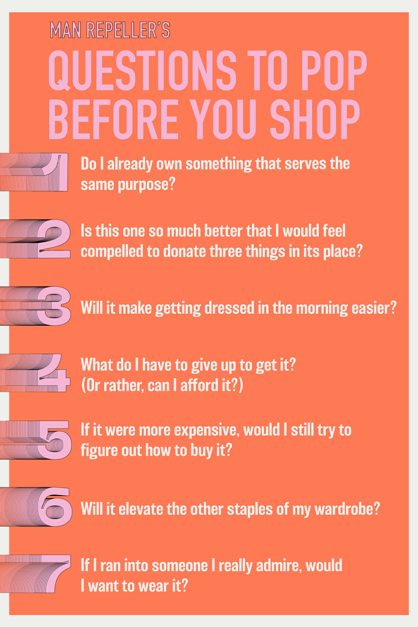 Questions To Pop Before You Shop