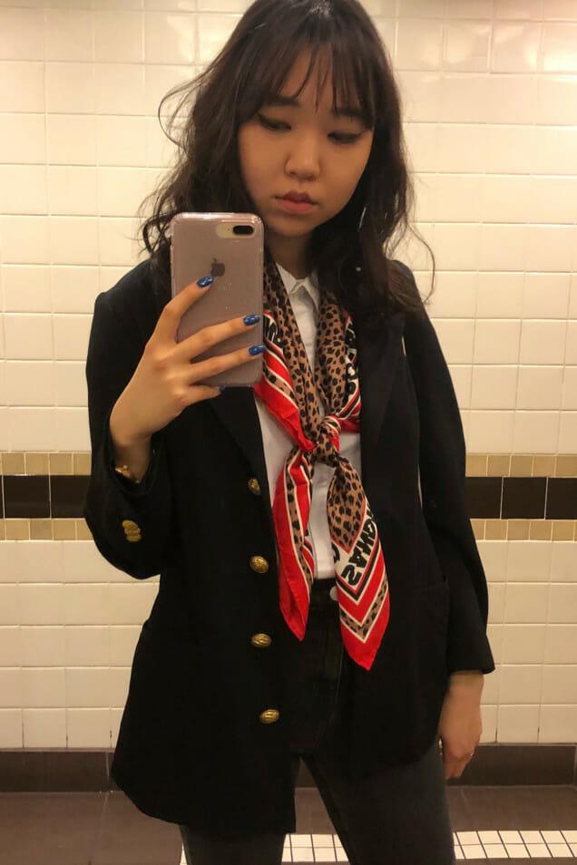 Sandro scarf