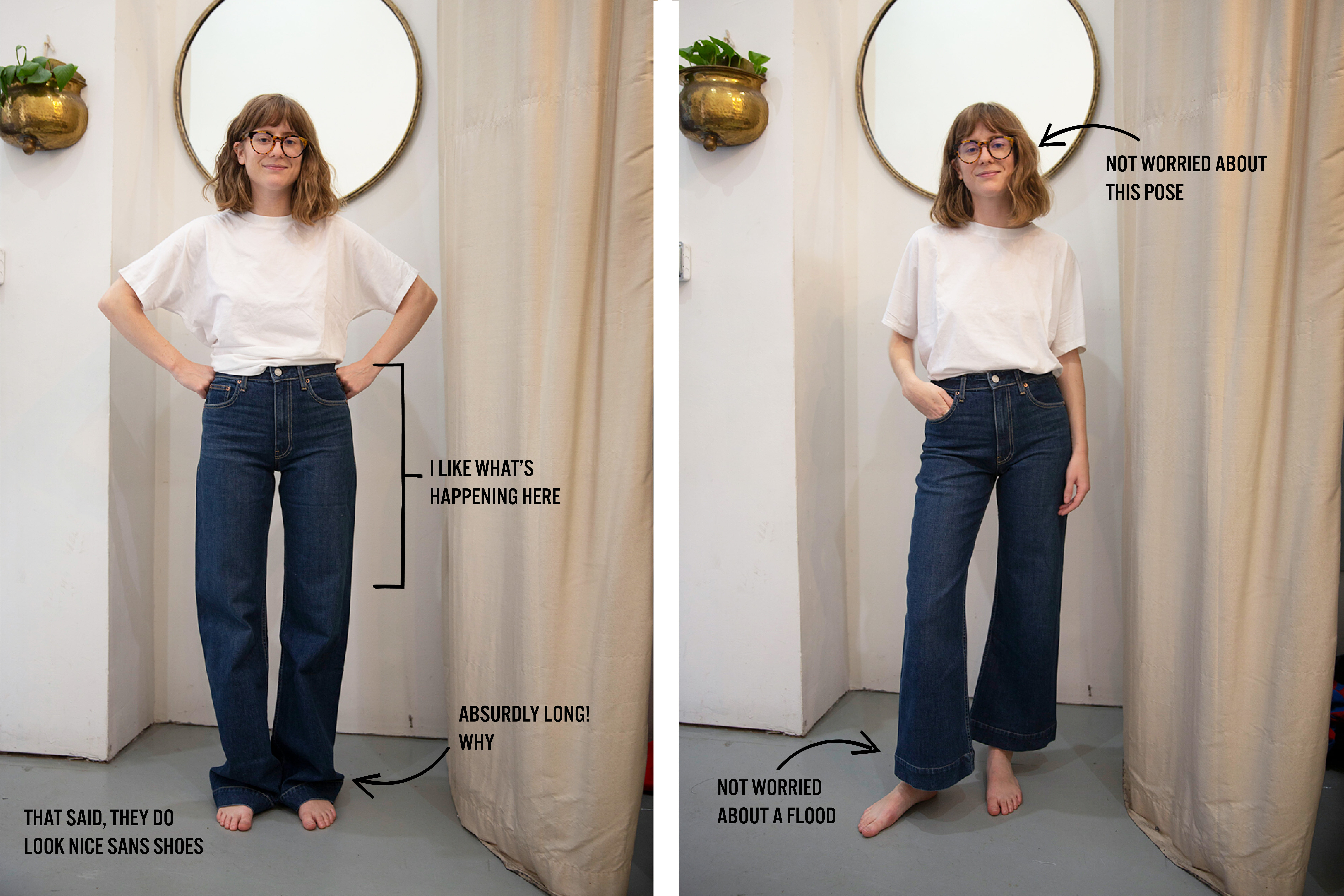 The Absurdly Long Jeans