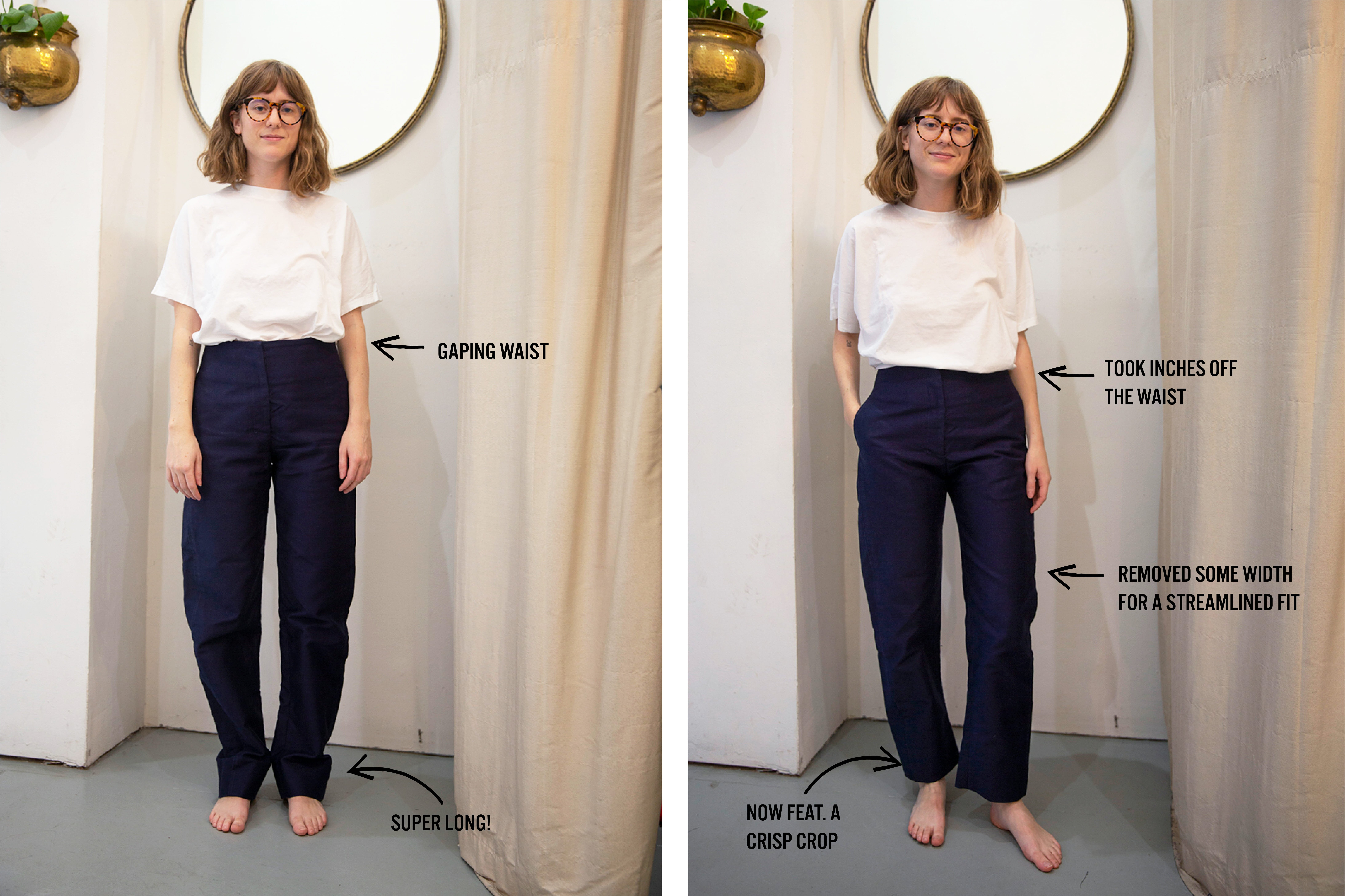 The Sample Sale Trousers