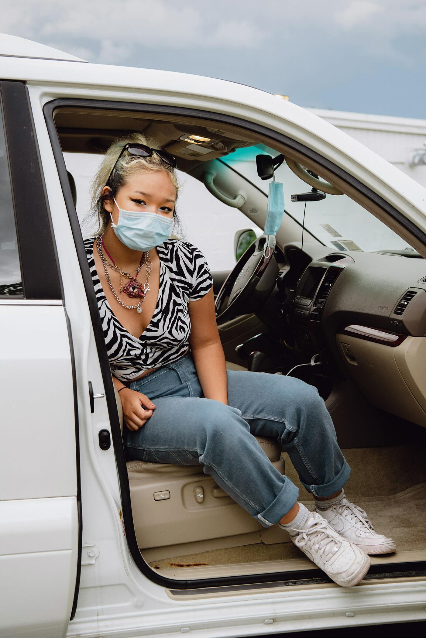 Jasmine Clarke Shoots Drive-In Movies