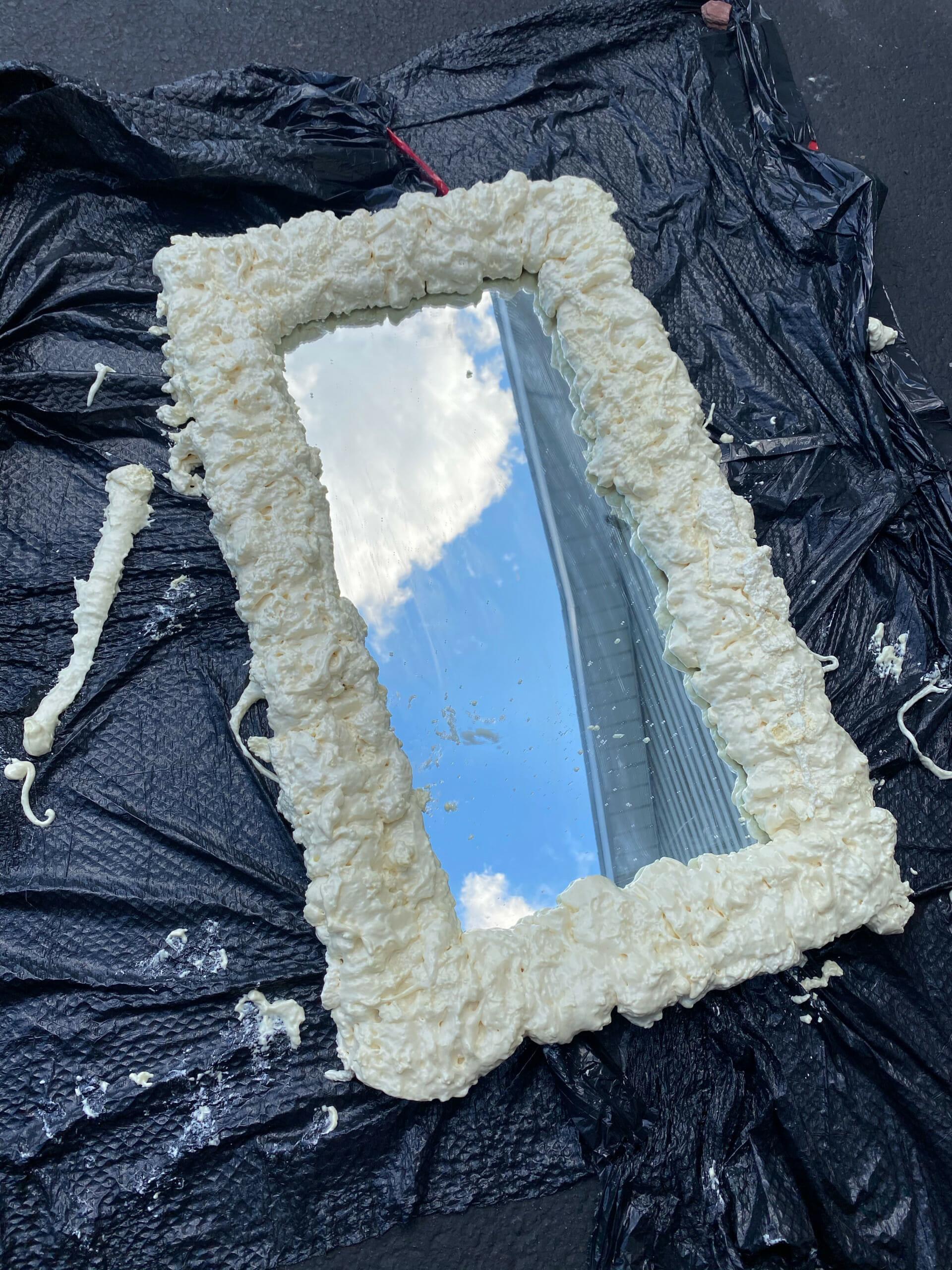 Foam Mirror DIY