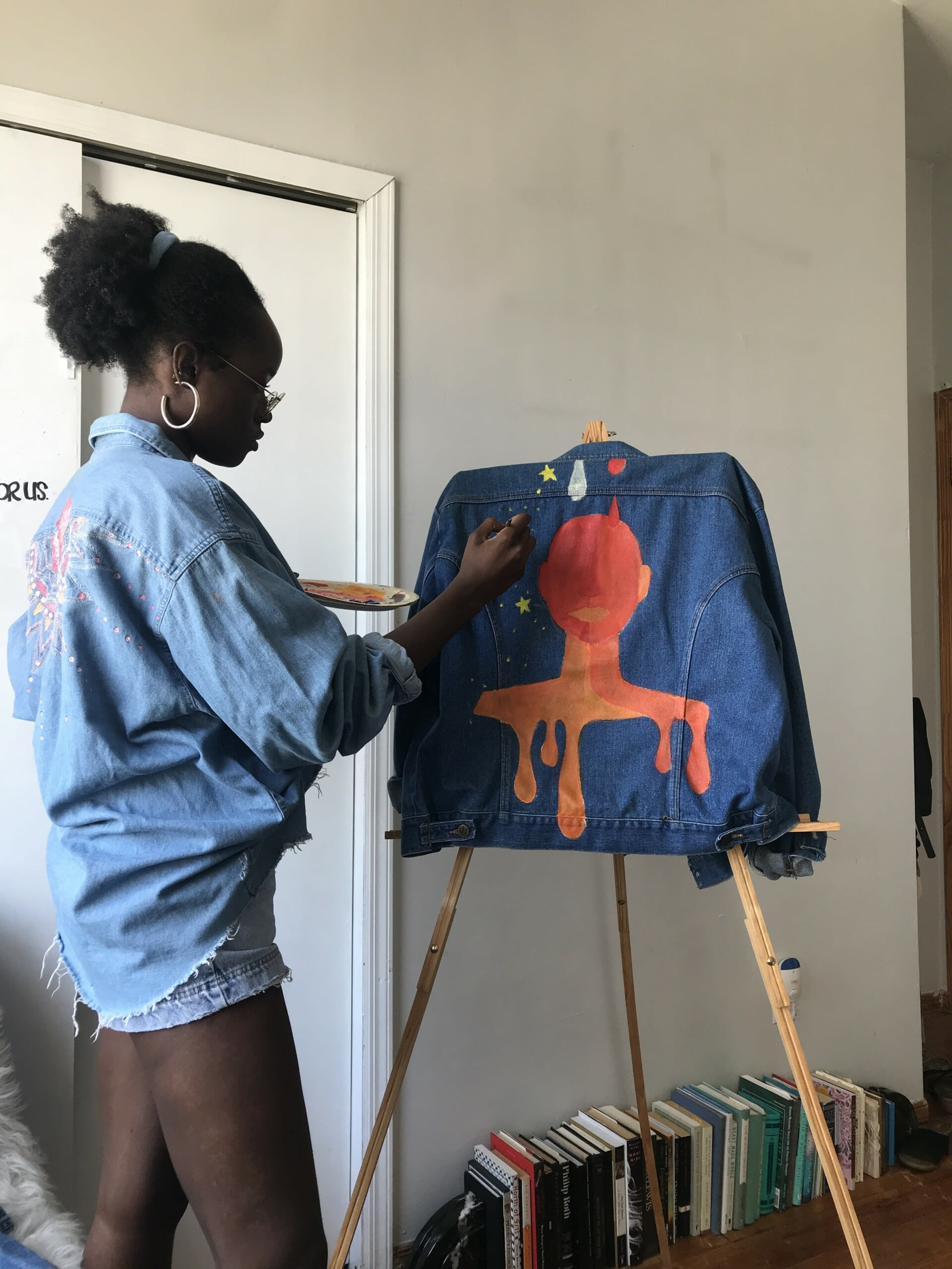 Bringing Life to Vintage Items through Painting